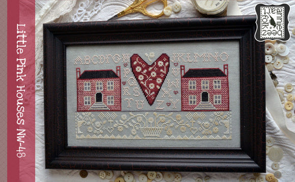 Little Pink Houses | Annie Beez Folk Art Nashville 2020 Release