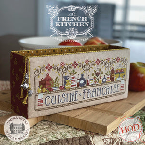 Pre-Order: Cuisine Francaise The French Kitchen | Hands on Design & Summerhouse Stitche Works - Needlework Expo