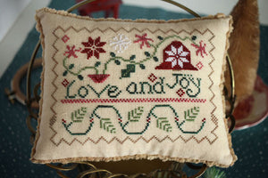 Love and Joy | October House Fiber Arts - Needlework Expo