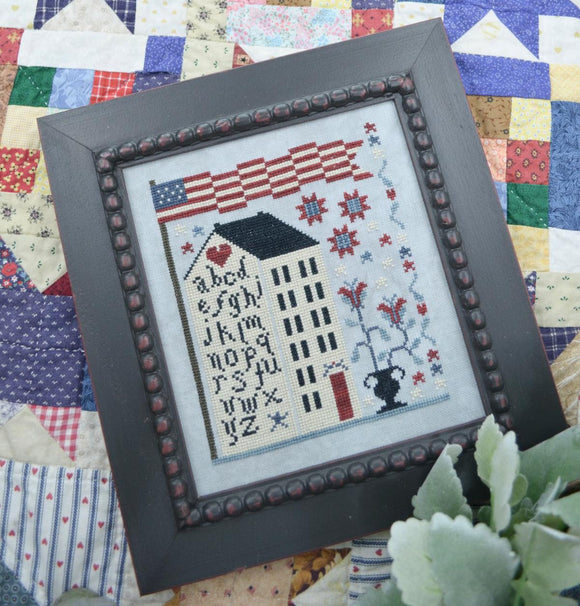 American Sampler House | Annie Beez Folk Art - Needlework Expo