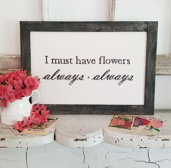 Flowers Always | Hello From Liz Mathews