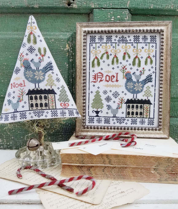 Third Day of Christmas Sampler & Tree | Hello From Liz Mathews