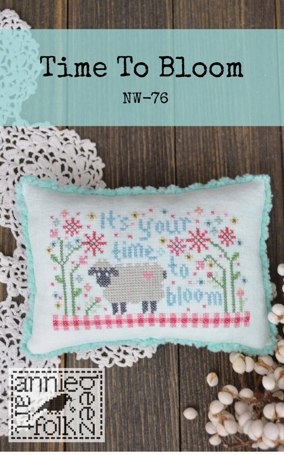 Time to Bloom | Annie Beez Folk Art - Needlework Expo