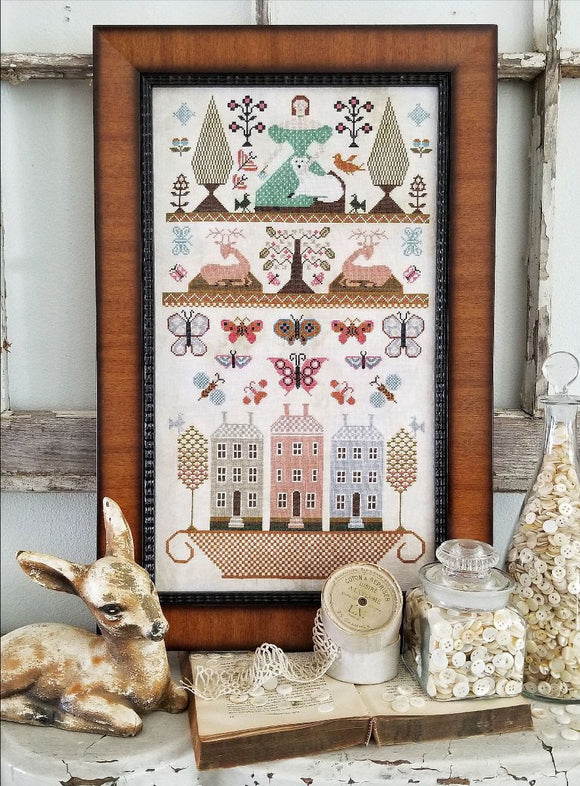 Pre-Order: Pieces of Olde | Kathy Barrick - Needlework Expo