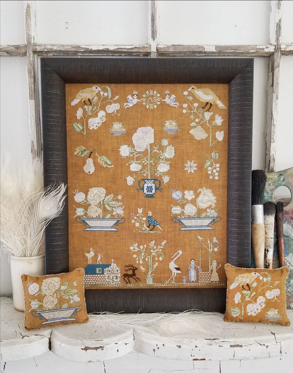 Pre-Order: A Dutch Sampler | Kathy Barrick - Needlework Expo