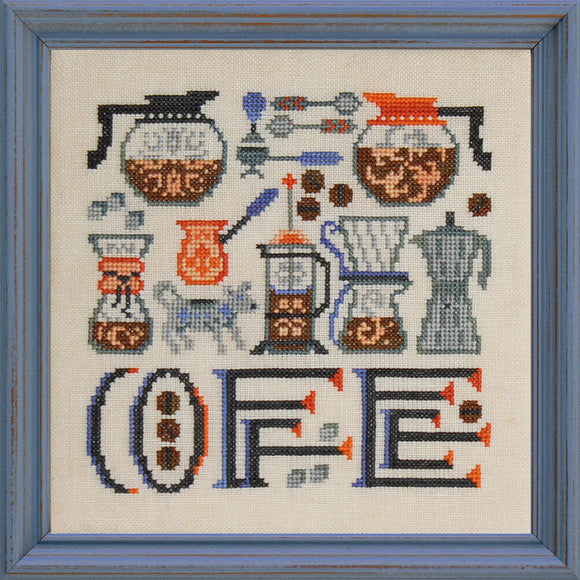 Pre-Order: Coffee Time | Ink Circles - Needlework Expo