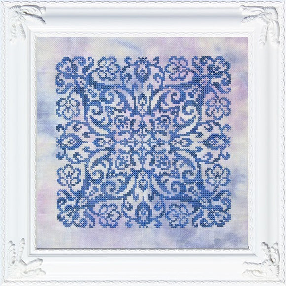 Blue Velvet | Ink Circles - Needlework Expo