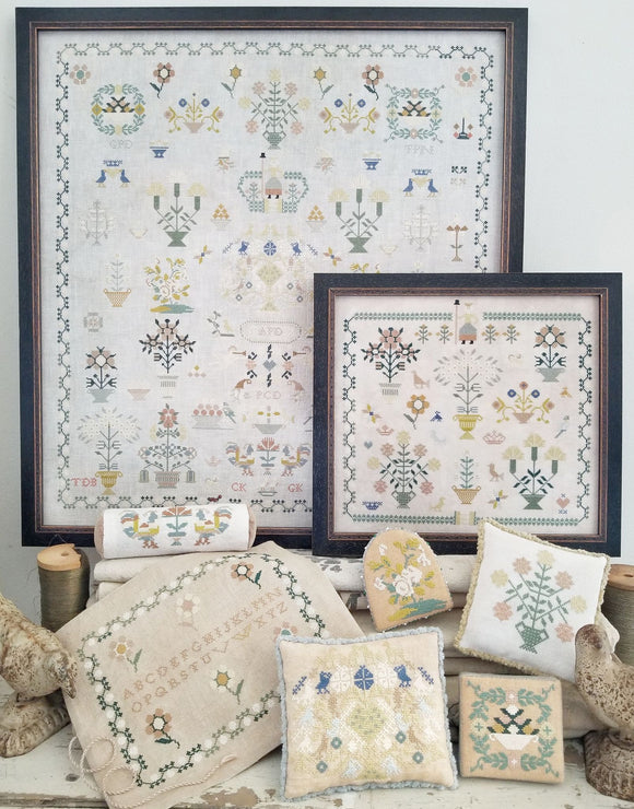 Pre-Order: Dutch Sampler Collection | Hello from Liz Mathews - Needlework Expo