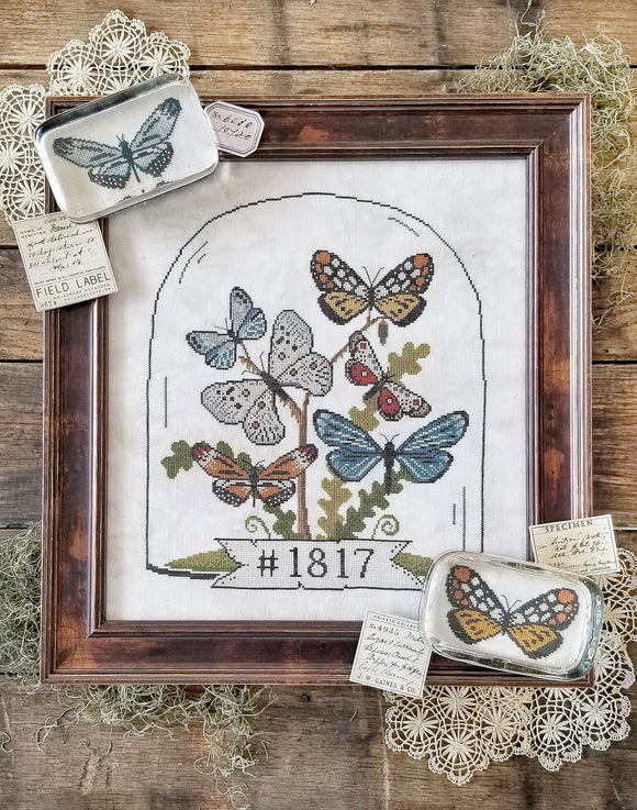 Pre-Order: Butterfly Cloche | Hello from Liz Mathews - Needlework Expo