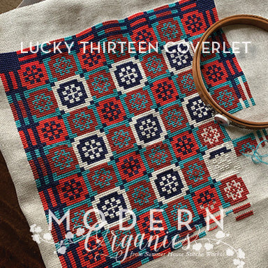 Lucky Thirteen Coverlet | Summer House Stitche Works Nashville 2020 Release