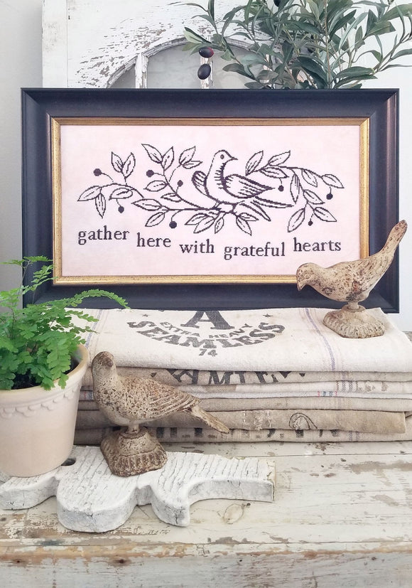Pre-Order: Gather Here | Hello from Liz Mathews - Needlework Expo
