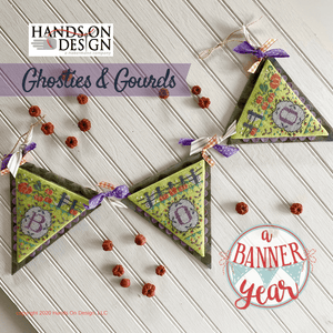 Ghosties and Gourds | Hands on Design - A Banner Year