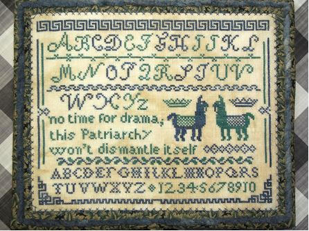 New! Drama Llama Sampler | Bendy Stitchy Designs