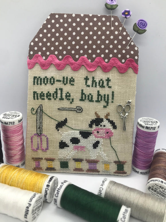 Pre-Order: Moo-ve That Needle - The Moo the Merrier | Romy's Creations - Needlework Expo