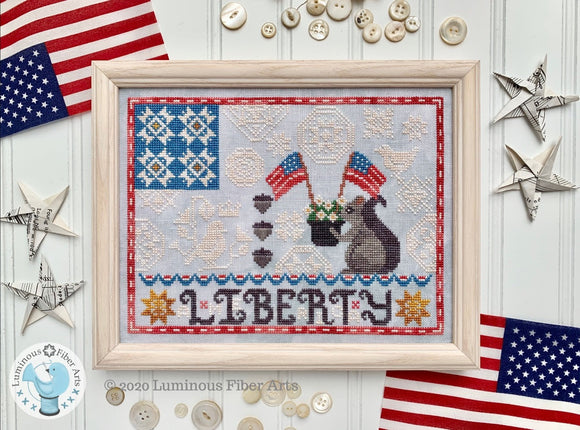 New! Liberty Quaker | Luminous Fiber Arts