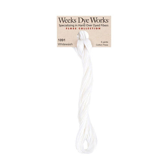 Whitewash Weeks Dye Works | Hand-Dyed Embroidery Floss