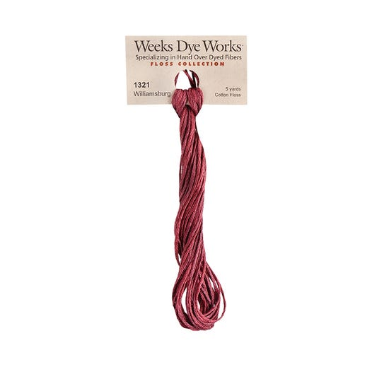 Williamsburg | Weeks Dye Works - Hand-Dyed Embroidery Floss
