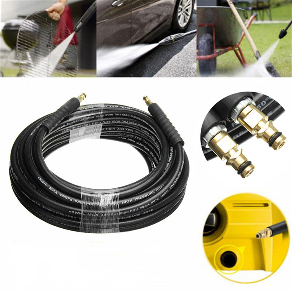 SolidCRS™ 20M Pressure Washer Hose With Yellow Quick Connect Adapter For Karcher K Series