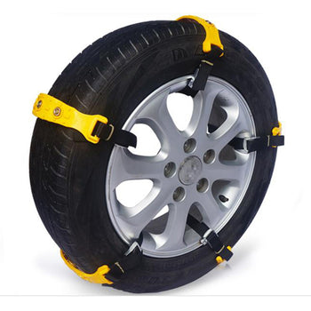 10pcs Car Tire Snow Chains Anti Skid TPU Chains Set