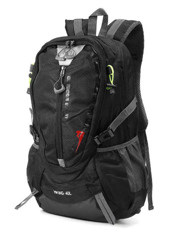 GearCRS™ Sports Waterproof Nylon Backpack Camping & Hiking Rucksack