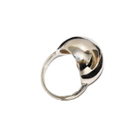 Silver Large Ball Smooth Rings / Fashion Creative Jewerly
