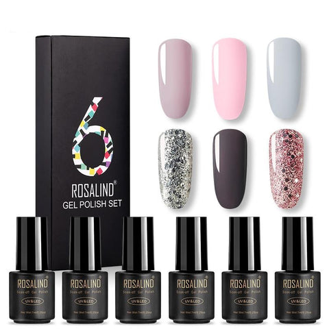 ROSALIND 6 Colors Gel Polish Set
