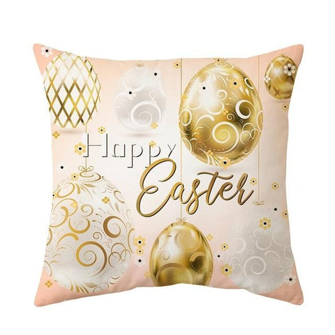 Home Decoration Easter Pillowcase