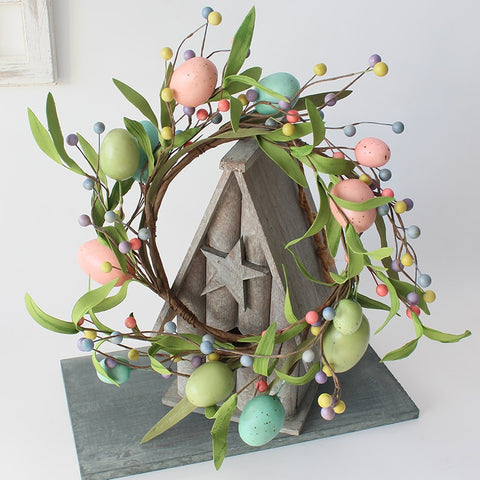 Easter Egg Door Wreath \ Home Decor