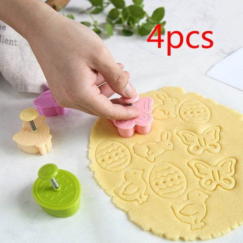 Set of Molds for Easter Cookies