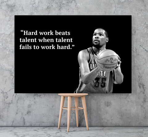 Kevin Durant Work Hard
