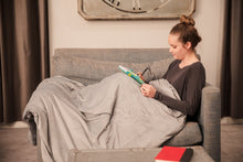 Load image into Gallery viewer, Aurora: The Self-Cleaning Weighted Blanket For Better Sleep