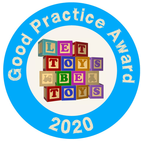 Let Toys Be Toys Badge