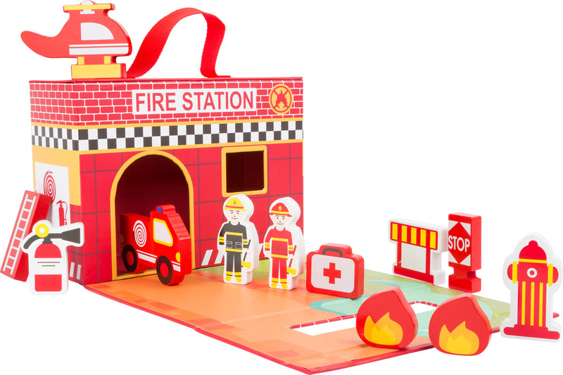 Fire Brigade Themed Play Set
