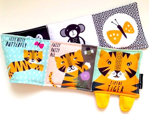 Tiptoe Tiger Soft Book