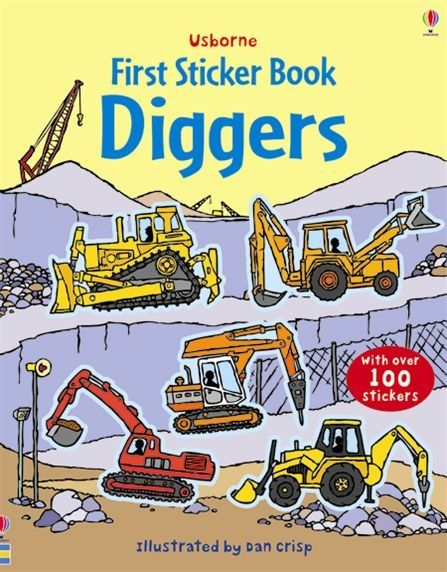 First Sticker Book: Diggers
