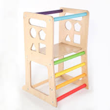 Rainbow Learning Tower