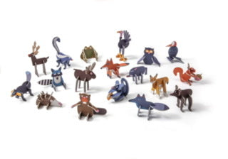PlayinChoc: Woodland Animals