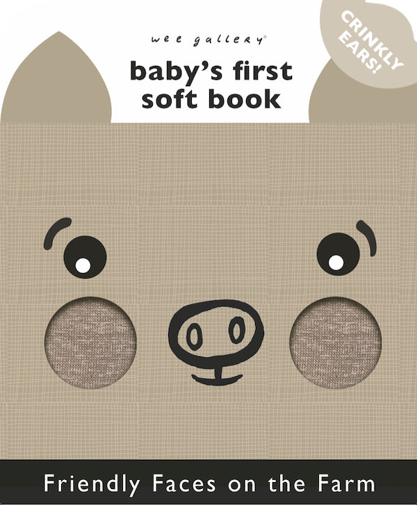 Baby's First Soft Book: Friendly Faces on the Farm