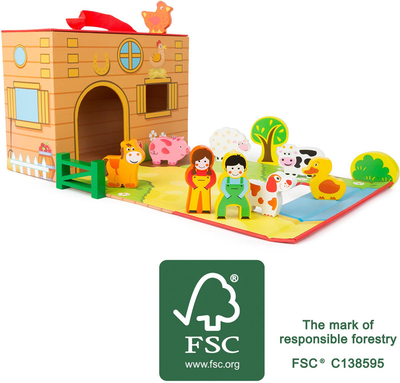 Farm Themed Play Set
