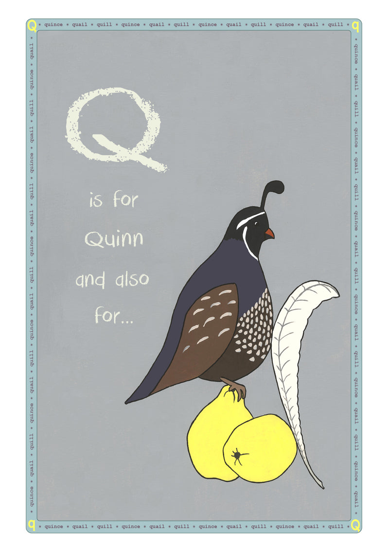 Q is for...Personalised Print
