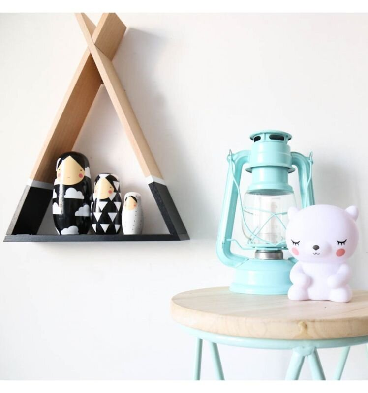 Black Teepee Shelf