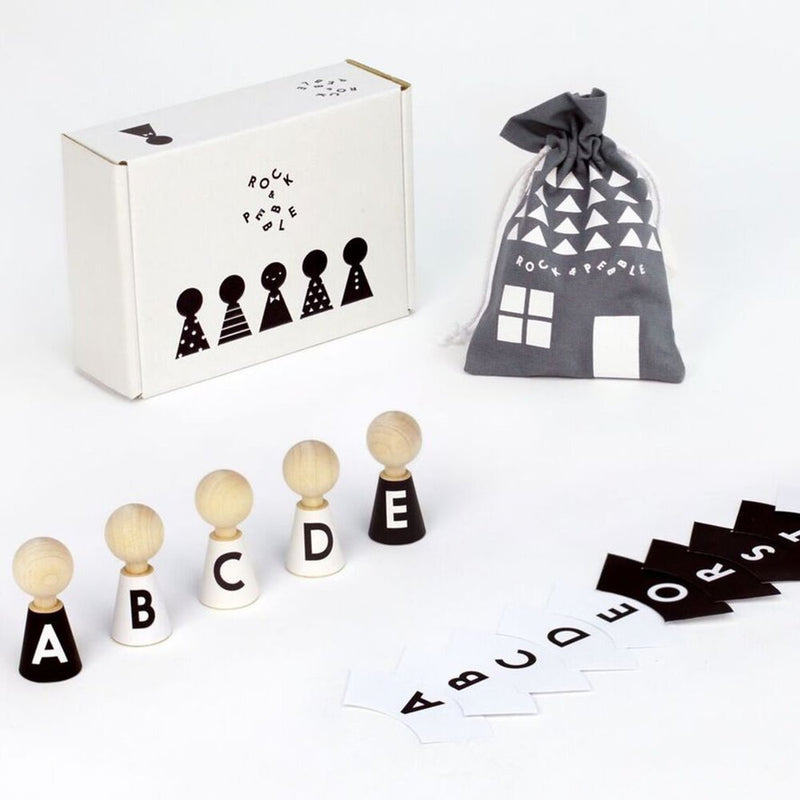 Alphabet Peg Dolls