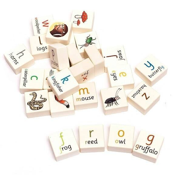 Gruffalo Alphabet Blocks
