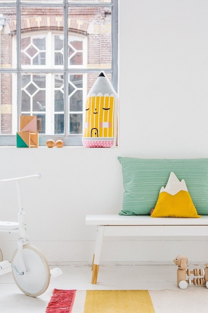Pencil House Cushion