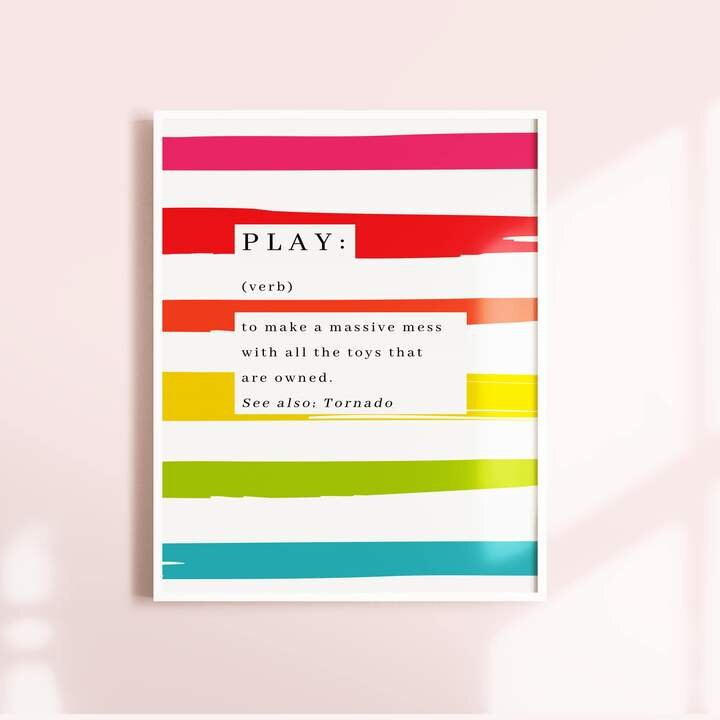Play Dictionary Extract A4 Print