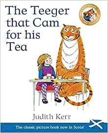 The Teeger that Cam for his Tea Book (Paperback)