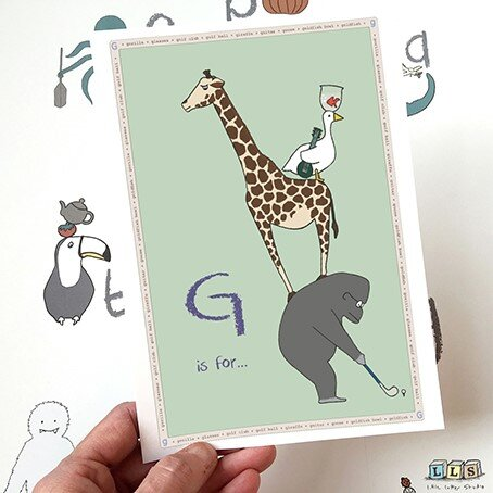 G is for...Print