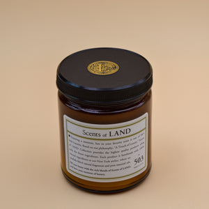 Scents of Land Ebony Candle