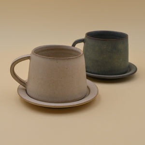 Tapered Cup & Saucer
