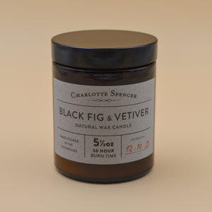 Charlotte Spencer Black Fig & Vetiver Botany Candle
